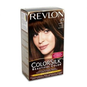 Revlon Color Silk #43 Md Golden Brown