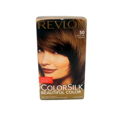 Revlon Color Silk #50 Light Ash Brown
