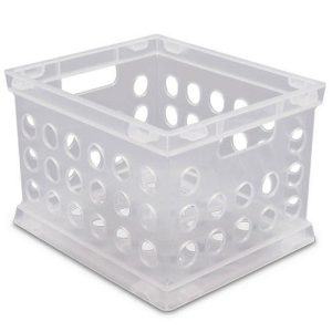 Sterilite Mini Crate Clear