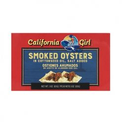 C.G Smoked Oysters 3oz In Cttn Seed Oil