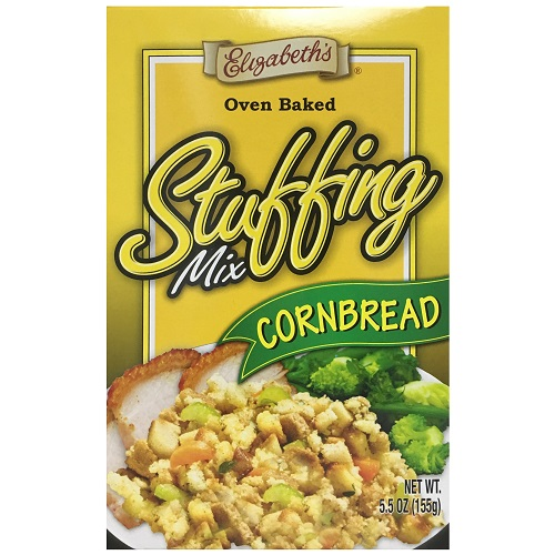 Elizabeths Stuffing Mix Corn Bread 5.5oz