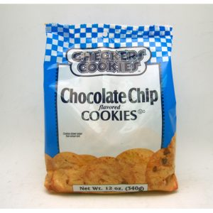 Checkers Cookies Choc Chip 8oz