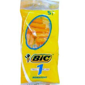 Bic Razors 5pc Classic Sensitive