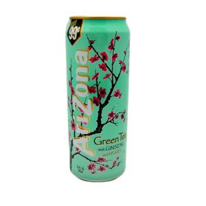 Arizona 23oz Green Tea W-Ginseng AND Hny