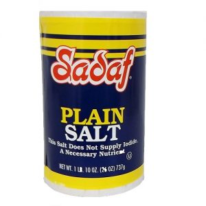 Sadaf Plain Salt 26oz