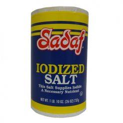 Sadaf Iodized Salt 26oz