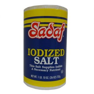 Sadaf Iodized Salt 26oz