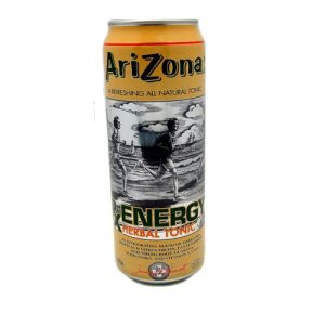 Arizona 23oz RX Energy Herbal Tonic CRV