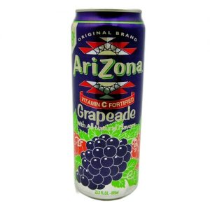 Arizona 23oz Grapeade + CRV