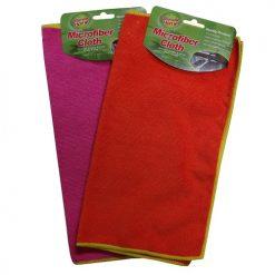 Microfiber Cloth Asst Clrs