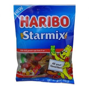 Haribo Gummies Starmix 4oz Asst