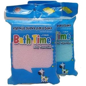Bath Time Baby Protection Sponge 1pc