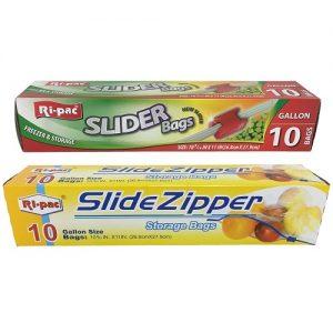 Ri-Pac Slider Bags 1 Gl 10ct