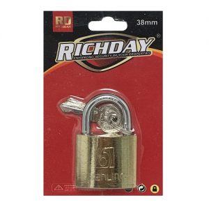 Richday Padlock 38mm W-2 Keys