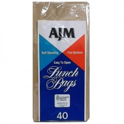 AJM Lunch Paper Bags 40ct