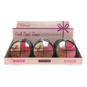 Cherimoya Mineral Blush AND Bronzer 4 Tone