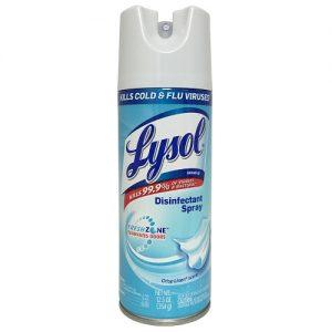 Lysol Disinfectant Spray 12.5oz Crisp Li