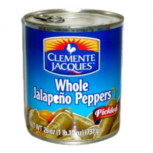 Clemente Whole Jalapenos 26oz