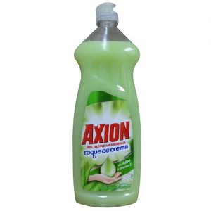 Axion Dish Liq 640ml W-Aloe AND Vit E.