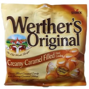 Werthers Crmy Caramel Filled Candy 2.65o