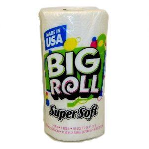 S.S Big Roll Paper Towel 1pk 55sq ft 2-P
