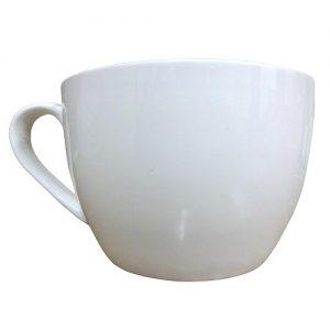 White Soup Mug 24oz