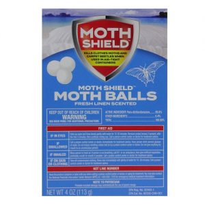 Moth Shield Fresh Linen Moth Balls 4oz
