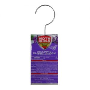 Moth Shield Lavender Closet Block 5oz