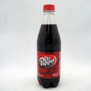 Dr. Pepper Soda 16.9oz PET Bottle