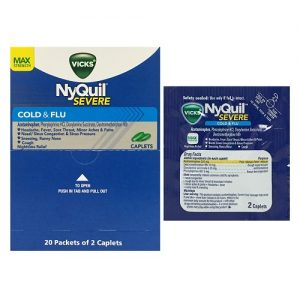 Vicks NyQuil 20ct Caplets Cold AND Flu