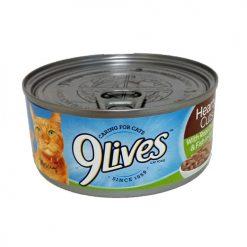 9 Lives 5.5oz Hearty Cuts Chick-Fish Gra