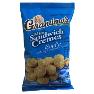 Grandmas Mini Sandwich Cremes 3.71oz