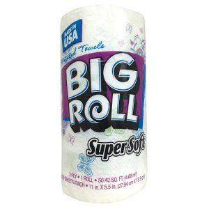 S.S Big Roll Paper Towels 1pk Printed