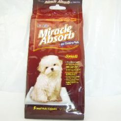 Miracle Absorb Pet Training Pads Sml 5pc