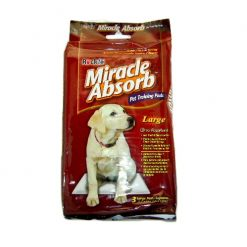 Miracle Absorb Pet Training Pads Lg 3pc