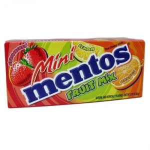 Mentos Mini Fruit Theater Pack 2.82oz