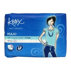 Kotex Maxi Pads 8ct W-Wings Soft AND Smoot