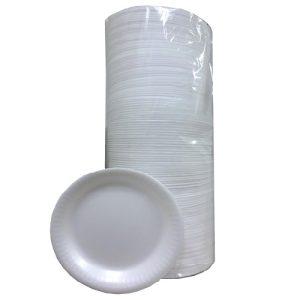 Reyma Foam Plates 125ct 9in Plain