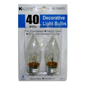K-Light Decorative Light Bulbs 40w 2pc