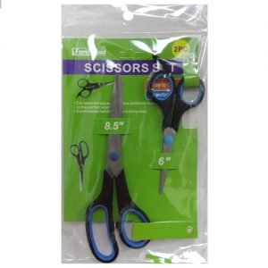 Scissors 8.5 AND 6in Asst Clrs