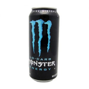 Monster Energy Drink 16oz Blue