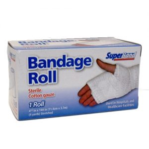 Super Band Bandage Roll 1pk Sterile 4yrd