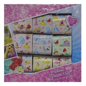 Princess 9 Roll Sticker Box