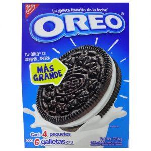 Nabisco Oreo Cookies 4pk 273.6g