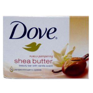 Dove Bath Soap 4.25oz Shea Butter 135g