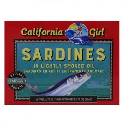 C.G Sardines In Lightly Smoked Oil 3.75o