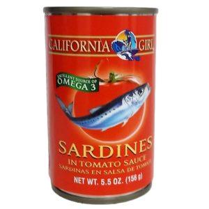 C.G Sardines W-Tomato 5.5oz