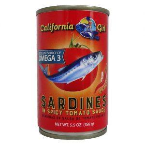 C.G Sardines W-Chily 5.5oz