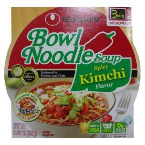 N.S Bowl Noodle Soup Kimchi  3.03oz