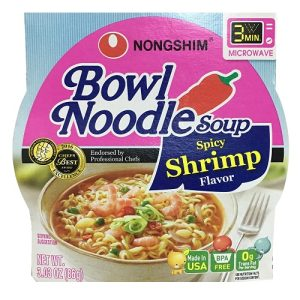 N.S Bowl Noodle Soup Spicy Shrimp 3.03oz